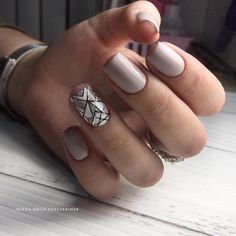Taupe Nails, Sns Nails, Vernis Semi Permanent, Nail Trends, Manicure And Pedicure, Beauty Nails, Hair And Nails, Nail Designs, Make Up