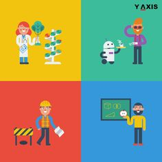 The US will need to look at foreign migrants coming via the L-1B and H-1B visas to fill STEM jobs in the future. #YAxisUS #YAxisImmigrants #STEM