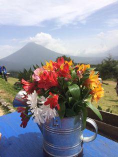 Guatemala. Paradise. Volcano. Hobbitenango