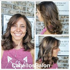 We are loving the fun highlights we are doing for summer! Call Cabello's at 850-575-7529 to book your appointment with @colleenasunshine! #redken #hair #salon #cabellossalon #cabellostally #spa @redken5thave @behindthechair_com @modernsalon #tally #tallahassee #hairsalon #hairstylist #stylist #lovewhatwedo #styleyourstory #brunette #highlights #curls