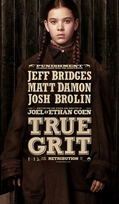 True Grit (2010)... Forgot my copy at my old place! Thank you pinterest for reminding me ;p
