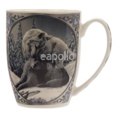 Snow Kisses Wolf Design Lisa Parker New Bone China Mug New bone china mugs are a great gift for all ages and we have a fantastic selection of desig Valentines Mugs, Valentine Day Gifts, Gifts For Mum, Gifts In A Mug, Gift Mugs, Lisa Parker, Couple Mugs, Snow Covered Trees, Wolf Design