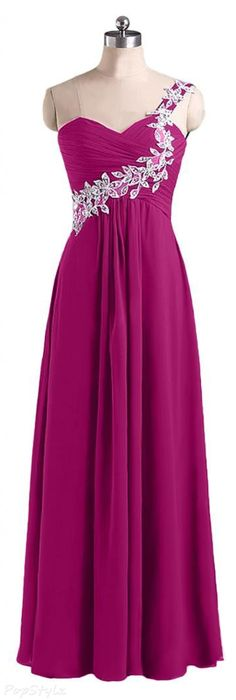 Sunvary Long Graceful Chiffon Evening Gown