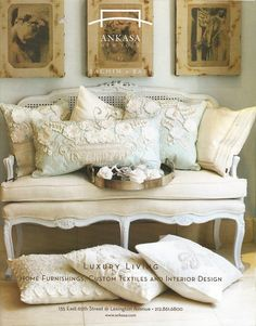 french decor | French Provincial Sofa's and Settees French Settee – French ...