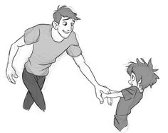 i'm just crying about baby hiro and single dad tadashi rn