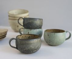 ceramic 호 cups tass pottery kitchen cuisine