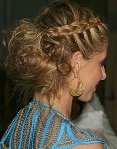 dont like the back but the braid is sweet