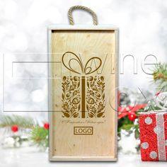 Корпоративные подарки в Минске для Ваших клиентов. Набор для глинтвейна в деревянной коробке с гравировкой. Ваш логотип мы выгравируем на крышке, на деревянных бирках к льняным мешочкам со специями, на деревянной елочной игрушке, а также напечатаем на открытке из крафт-картона. #minsk #глиентвейн #gift #подарок