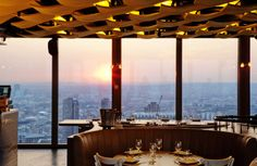 Best Restaurants in London: Upside Down Dining. Where to have the best strange meals in London, including breakfast for dinner and brunch cafes. London Neighborhoods, Best Rooftop Bars, Liverpool Street, Oscar Niemeyer, London Food, London Eats, London Places, Things To Do In London, Where To Eat London
