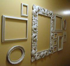 image frames wall art | Empty Frames Wall Decor Part II