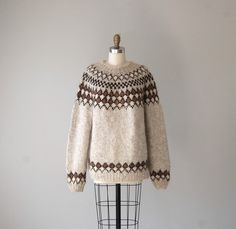 Log in to your Etsy account. Sweater Outfits, Wool Sweaters, Childhood Memories, Knit Crochet, Autumn Fashion, Pullover, 1970s, Sewing, Knitting