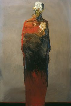 'Frozen' by California-based American painter Dan McCaw (b.1942). Oil on canvas, 24 x 36 in. via a long time alone