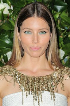 Jessica Biel Goes For A Soft And Subtle Ombre