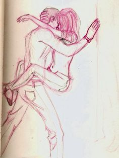love romantic by ggibsa on Pinterest | Love Sketch, Sketches and ...