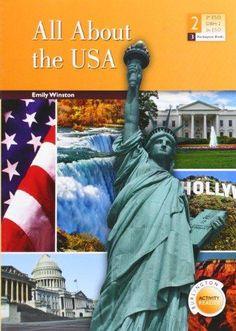 Burlington Activity Reader: All About the USA.  Lecturas, Nivel: 2º ESO. Idioma: inglés.