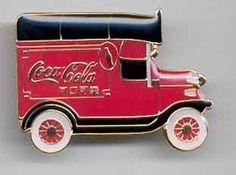 COCA-COLA Coke Delivery Truck PIN