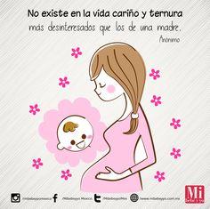 Nada como el amor de mamá #FrasesMIB #AmorDeMamá #MamásMIB