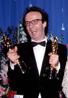 """Winner of two Oscars, Roberto Benigni - Best Actor for """"Life Is Beautiful"""" 1998 and Best Foreign Film """"Life is Beautiful"""" 1998"""