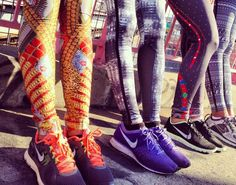Nike's doing it hot with those prints!