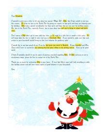 EzsantalettersCom  Santa Letter Child With Loved One Deployed