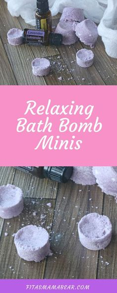Mini diy bath bombs, homemade, handmade, gift, toddler, mom, bath, bath time, relaxing, calming, sleep,