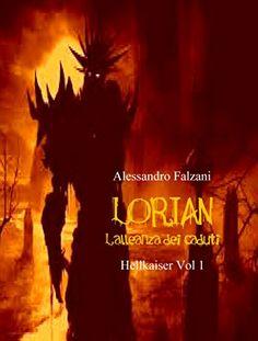 New cover for LORIAN: L'ALLEANZA DEI CADUTI (HELL KAISER Vol. 1)