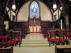episcopal church beauty | Altar and reredos, All Souls Memorial Episcopal Church, Wa… | Flickr ...