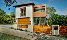 Love the wood! #Home #Realestate Luxurious Eco-Friendly Living in Los Angeles - | Bel Air Homes | Beverly Hills Mansions Real Estate