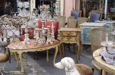 Paris flea market my sister and I went to flea market in Nice when we were there How much fun is that
