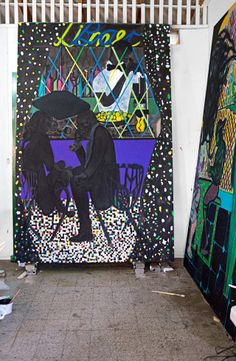 New Yorker profile of Chris Ofili (10/6/14)