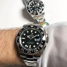 Submariner or gmt🤔 #116610ln #116710ln #rolex #Gmt #submariner #womw #watchporn #wristporn #Luxury #swiss #diving #diver #watchoftheday #dailywatch #timepiece #pilot #gmtmaster