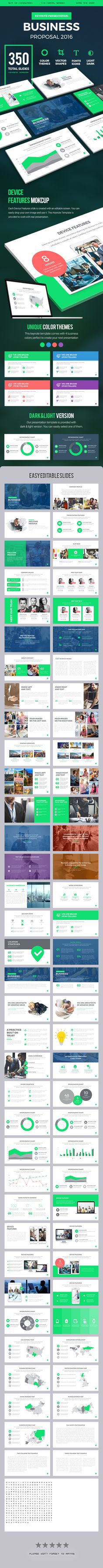 Business Proposal 2016 Keynote Presentation Template - Keynote Templates Presentation Templates