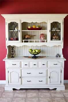 House Remodel Ideas *I LOVE this hutch!!! I want to redo one to look similar to this one day!!! *MeL*