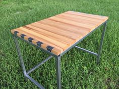 Check now New article about #woodworking #tips: Build a Wooden Desk with Steel Support which one  has been published on eWoodworkingProjects.com - http://ewoodworkingprojects.com/wooden-desk/ #diy #woodworkingprojects  Coffee Table, coffee table diy, coffee table furniture, coffee table plans, coffee table projects, how make table, walnut coffee table, woodworking table plans