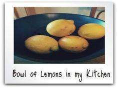 Lemon Water – A Morning Ritual #lemon #water