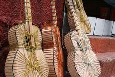 Paracho, Michoacan.  Making guitars, like old times.
