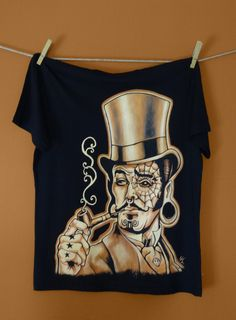 The Mountain T-shirt tete de mort rocker Skull Taille S-M-XL halloween Music