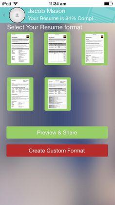 39 Best Resumecv Apps Images Resume Resume Cv App