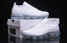 Nike Shoes OFF!> High-end Product Nike Air Vapormax 0 Triple White 942842 100 Womens Mens Running Shoes Trainers White Nike Shoes, Nike Air Shoes, Nike Air Vapormax, White Nikes, Air Max Sneakers, Sneakers Nike, White Shoes For Men, Shoes Jordans, Nike Trainers