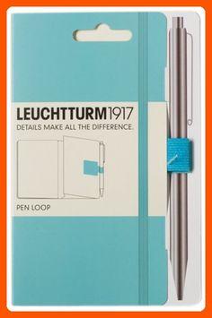 Leuchtturm Pen Loop Turquoise - Refine your workspace (*Amazon Partner-Link)