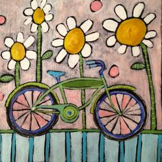Jenni Horne : Bike Paintings