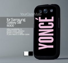 Yonce Beyonce Inspired, For Samsung s3 Hard Plastic Black | YourCazeMate - Accessories on ArtFire