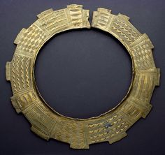 Brass Necklace Congo Early 1900
