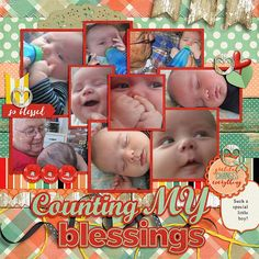 This little guy has added so many blessings to our family!  So grateful that God sent him our way!!  I used I am {Grateful} by Digilicous Designs and Meghan Mullens found here:  http://www.sweetshoppedesigns.com/sweetshoppe/product.php?productid=32299&cat=780&page=2 and a template from Aprilisa's Picture Perfect 109 found here:  http://store.gingerscraps.net/Picture-Perfect-109-Half-Pack.html