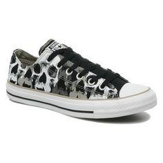 Converse #skulls #sneakers