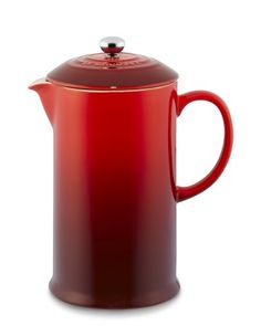 French press from Le Creuset. REGISTER HERE FOR A CHANCE TO WIN A $5,000 GIFT CARD PLUS OTHER WEEKLY PRIZES FROM WILLIAMS-SONOMA: http://r.linqia.cc/89d9012 #ad