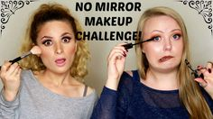 No Mirror Makeup Challenge with Gilmakeup! Youtube channel: full.sc/SK3bIA