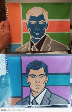 Awesome Archer art. this is brilliant