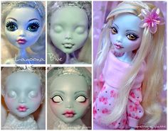 Face-up: Loona (MH repaint) by *prettyinplastic on deviantART