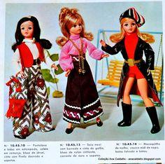 Ana Caldatto : Boneca Susi de Mecha anos 70